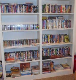 CD's, DVD's, VHS
