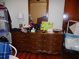 Thomasville dresser and mirror