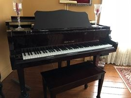 Hobart M. Cable Baby Grand Piano