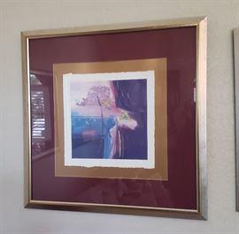 Framed some signed prints
