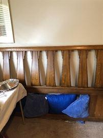 Mid Century headboard   Dresser, night tables