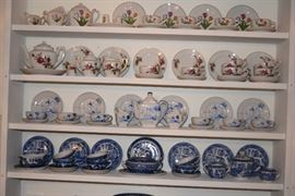 Dishes, Tea Cups & Saucers