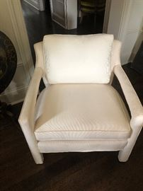 Pair ivory chairs
