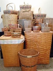 LONGABERGER BASKETS GALORE!