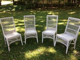 Wicker chairs 4