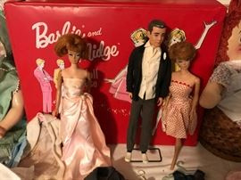 Barbie & Ken dolls