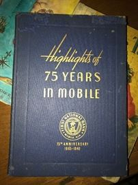 Highlights of 75  years in Mobile book
