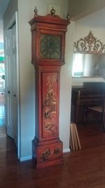 Early Japanese decorated clock