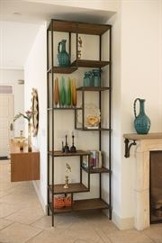 Industrial Home Helena Tetris Style Bookcase