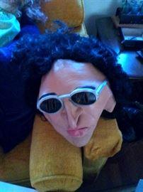 Howard Stern Halloween mask