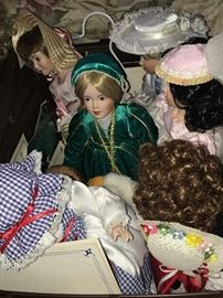 Storybook dolls by Danbury Mint