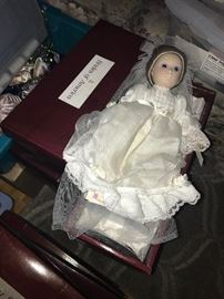 The Brides of America Dolls are a limited edition collection offered by the Danbury Mint in the 1980's.