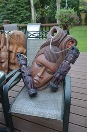 African Artifacts Masks
