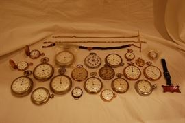Antique Pocket Watch Collection, Pocket Watches