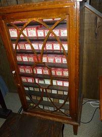 Beautiful old music cabinet