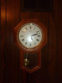 Seiko clock w/Westminster Chime
