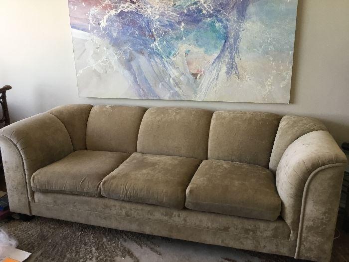 Streamline couch brushed velvet. $375