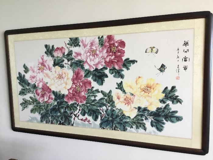 Chinese painting purchased in China $275