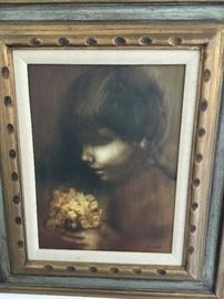 ZORA DUVALL Original oil painting $3000. Obo