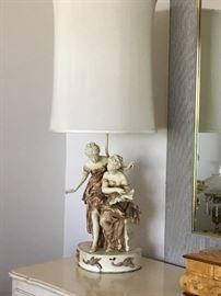 Antique lamp $200