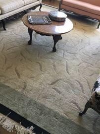 ISBERIAN wool 11x14 rug