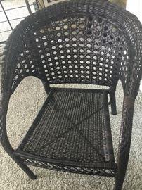 Rattan chair $75