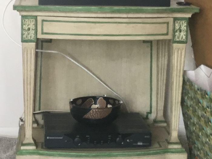 Antique table$100