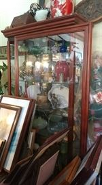 Art, furniture, glassware, collectibles