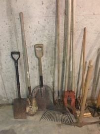 Entire lot of tools