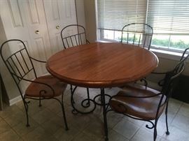 KINKAID table & 4 chairs