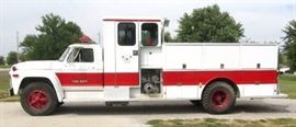 1979 Ford F800 FIRE TRUCK LOW MILES