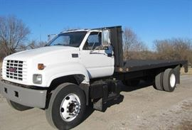 2002 GMC Flat Bed C6500 LOW Miles Under CDL