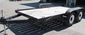 1997 16 Foot Mantena FlatBed Trailer