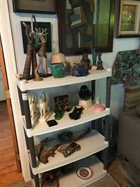 Many unique one of a kind pieces!