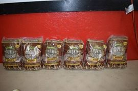6 Bags Coshell Smoking Wood Chips