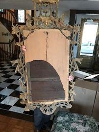 Reverse of mirror.