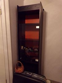 Upright Wall Cabinet with Glass Doors