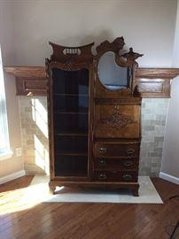 Gorgeous  Antique secretary $2500