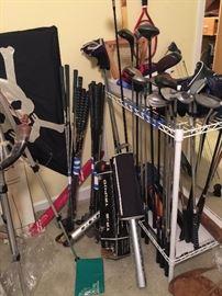 Sporting Equip, Golf Clubs, Baseball bats, Raquets