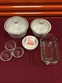 Collection of Pyrex