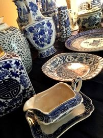 This Is One Of the Largest Collections of Blue & White That I've Ever Seen...