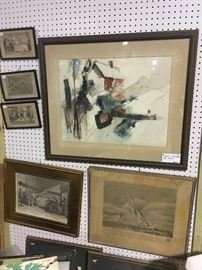 Original art and wood blocks!