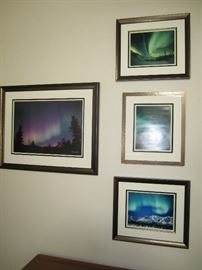 Northern lights art