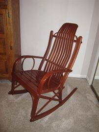 Amish bentwood rocker