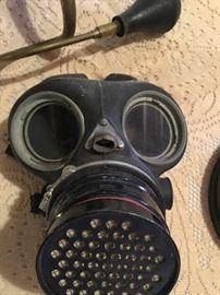 Soooo Steampunk vintage gas mask