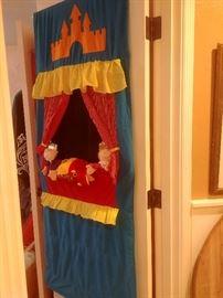 Puppet show set