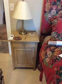 Pair of English pine night stands/ cabinets