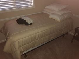NEW BED AND LINENS