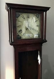 Antique Grandfather Clock Detail