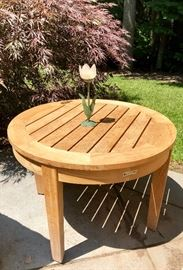 Pair of Gloster Teak Side Tables